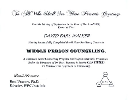 resident taining for counseling