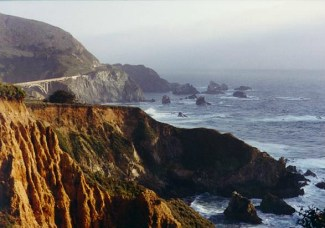 California coastal view
