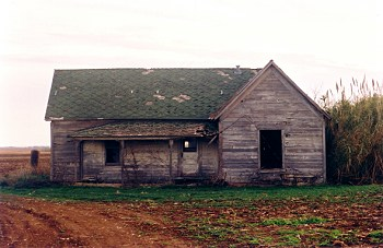 Old farm house East of San Angelo
