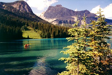 Minnewanka Lake Canada