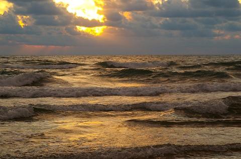 Sunrise at South Padra Island